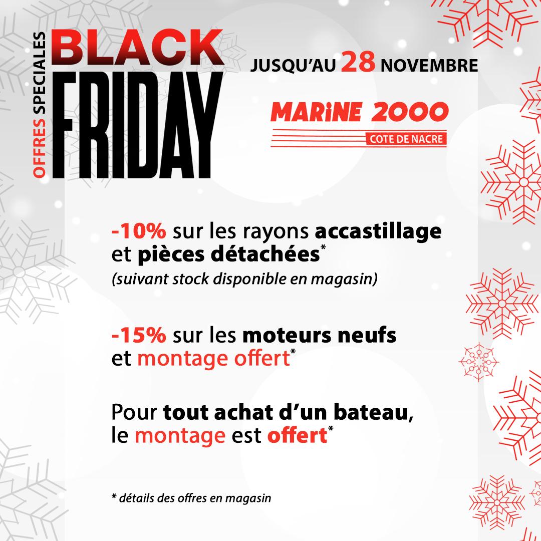 Black Friday chez Marine 2000